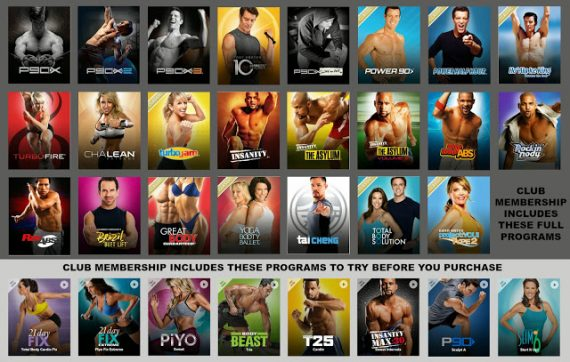 beachbody weight loss programs