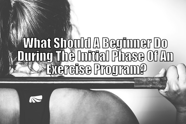beginner working out
