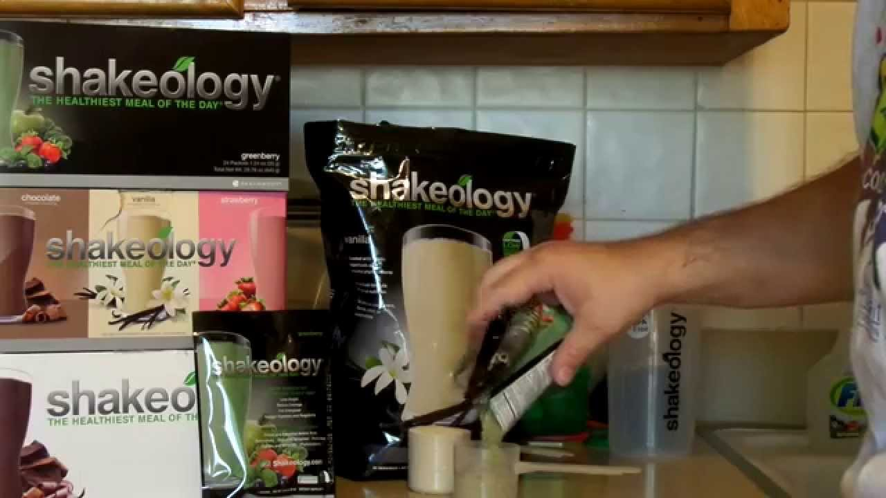 pick of shakeology scoop and packets