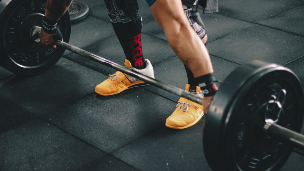 pic of our weightlifting shoes