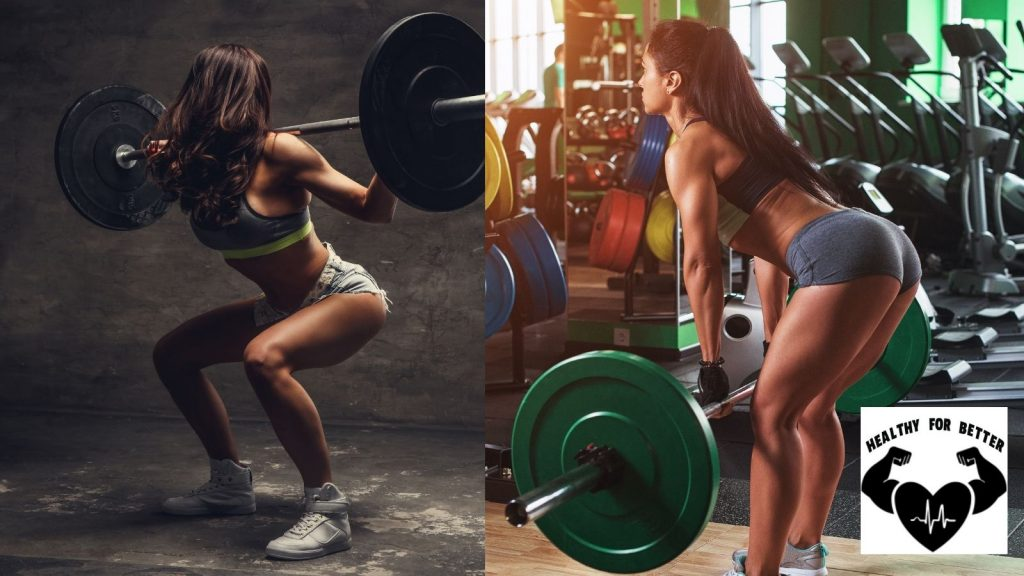 Squatting and deadlifting